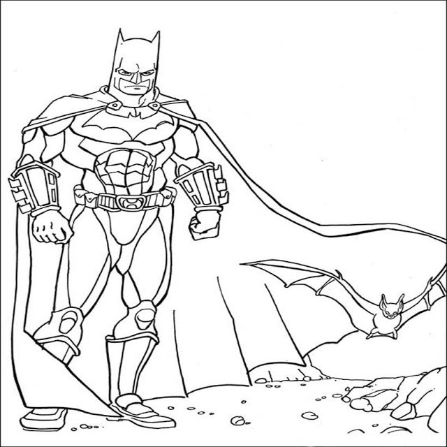 Best 20 Batman Coloring Pages for toddlers - Home, Family ...