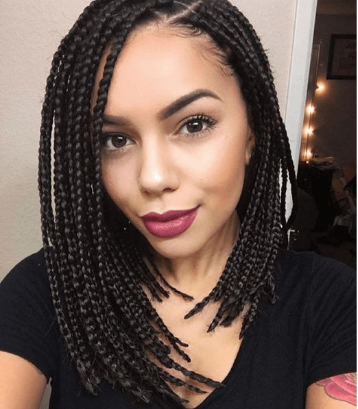 The Top 20 Ideas About Bob Box Braids Hairstyles Home