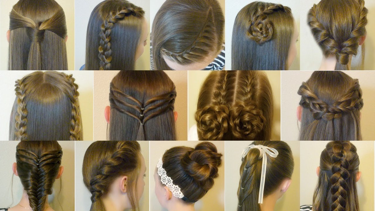 22 Ideas for Cute Simple Hairstyles for School - Home, Family, Style and Art Ideas