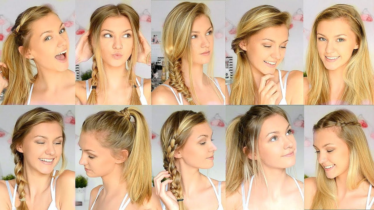 22 Ideas for Cute Simple Hairstyles for School - Home ...
