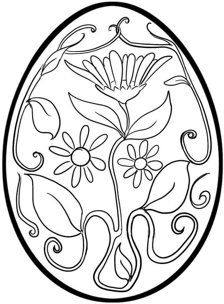 The Best Free Printable Easter Egg Coloring Pages - Home ...